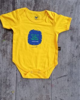SMALL MEETING INFANT ONESIE
