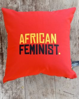 SCATTER CUSHION: AFRICAN FEMINIST
