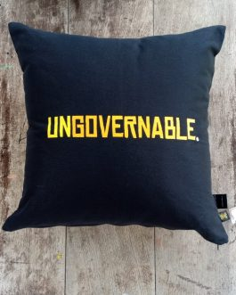 SCATTER CUSHION: UNGOVERNABLE