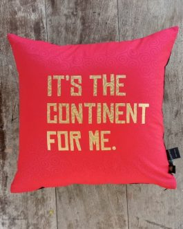 SCATTER CUSHION: IT'S THE CONTINENT