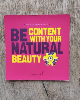 10*10 MAGNET : BE CONTENT WITH YOUR NATURAL BEAUTY